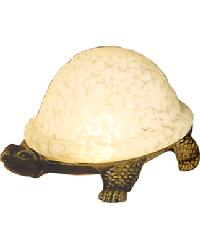 Glass Turtle Light by
