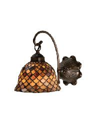 Tiffany Fishscale 1 Lt Wall Sconce by
