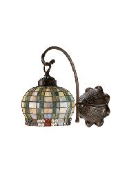 Jeweled Basket 1 Lt Sconce by