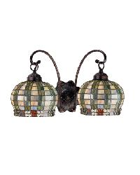 Jeweled Basket 2 Lt Sconce by