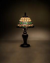 15in  High Tiffany Roman Mini Lamp by
