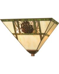 Pinecone Ridge Wall Sconce by