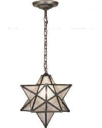 12 Inch Star Pendant by