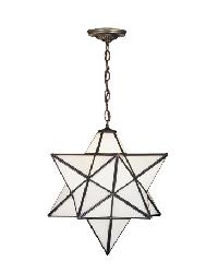 18 Inch Star Pendant by