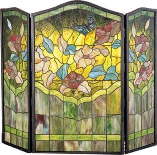 Meyda Tiffany Butterfly Folding Fireplace Screen  Search Results
