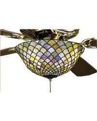 Tiffany Fishscale Fan Light by