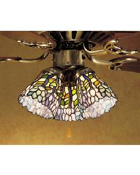 Wisteria Fanlight Shade by