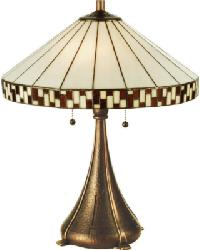 Checkerboard Table Lamp by