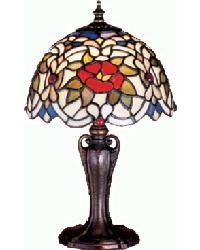 Renaissance Rose Mini Lamp by