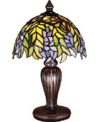 Tiffany Honey Locust Mini Lamp by