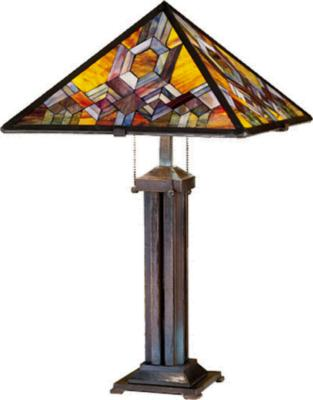 Meyda Tiffany Prairie Mosaic Table Lamp  Search Results