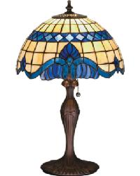 Baroque Accent Lamp by
