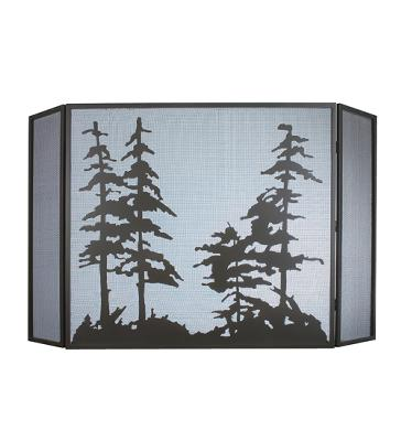 Meyda Tiffany Tall Pines Folding Fireplace Screen Timeless Bronze Search Results