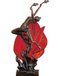 Flame Dancer Accent Lamp by