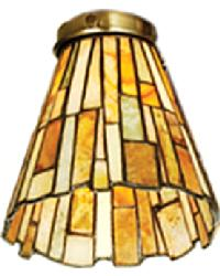 Delta Jadestone Fanlight Shade by