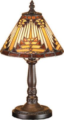 Meyda Tiffany Nuevo Mission Mini Lamp  Tiffany Table Lamps