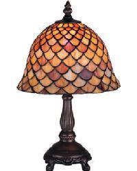 Tiffany Fishscale Mini Lamp by