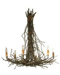 Twigs 6 Light Chandelier by