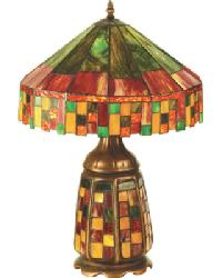 Cottage Lighted Base Table Lamp by