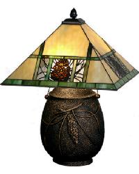 Pinecone Ridge Table Lamp by
