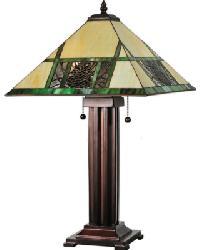 Pinecone Ridge Table Lamp by
