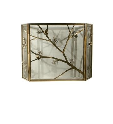 Meyda Tiffany Lone Pine Folding Fireplace Screen Antique Copper Mesh Search Results