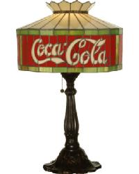 Coca-Cola Table Lamp by