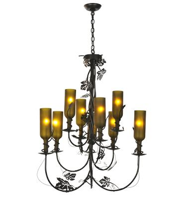 Meyda Tiffany Tuscan Vineyard Nine Light Wine Bottle Chandelier  Search Results