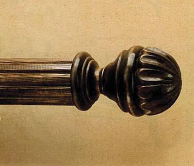 The Finial Company Wood Blooming Ball Finial  Search Results