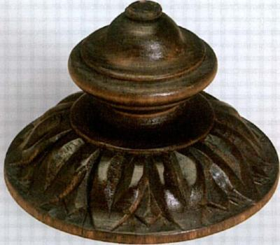 The Finial Company Spinning Top Wood Rosette  Search Results