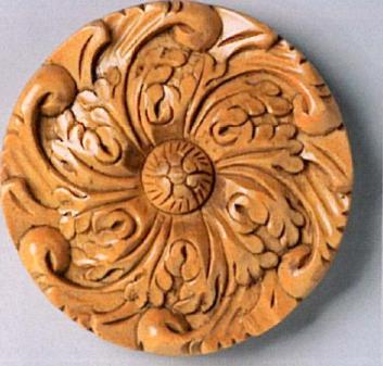 The Finial Company Carved Wood Rosette  Search Results