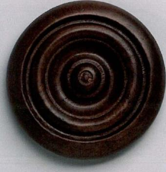 The Finial Company Grooved Button Wood Rosette  Search Results