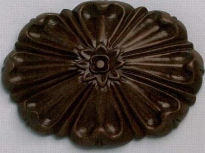 The Finial Company Floral Sunburst Wood Rosette  Search Results