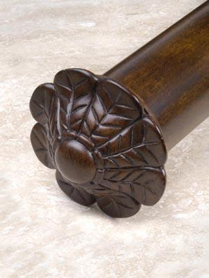 Robert Allen Hardware 2.25 Inch Acanthus End Cap  Search Results