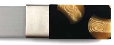 Brimar Tortoise Shell Finial  Modern Curtain Rods