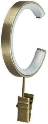 Finestra C-Ring with Clip Antique Brass Search Results