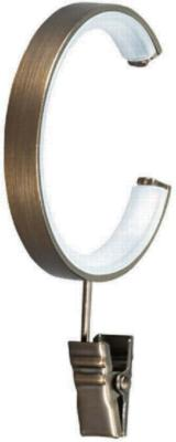 Finestra C-Ring with Clip Brushed Bronze Search Results