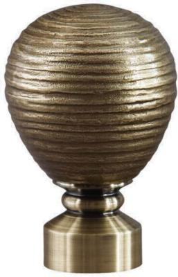 Finestra Contour Striated Ball            Antique Brass Search Results