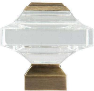 Finestra Beveled Glass Square          Antique Brass Search Results