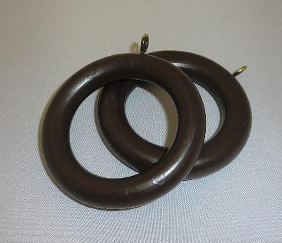 LJB 1 3/8 Inch Dark Walnut Smooth Wood Ring  Search Results