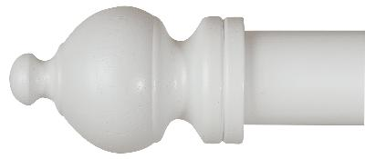 LJB 1 3/8 in SHERWOOD FINIAL STANDARD Shown in White Search Results