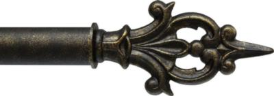 Ona Drapery Hardware Charlemange Finial Shown in Gold Blush Search Results