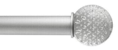 Ona Drapery Hardware Carbonated Clear Ball Finial  Search Results