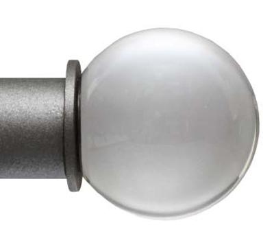 Ona Drapery Hardware Clear 1 Inch Finial  Search Results