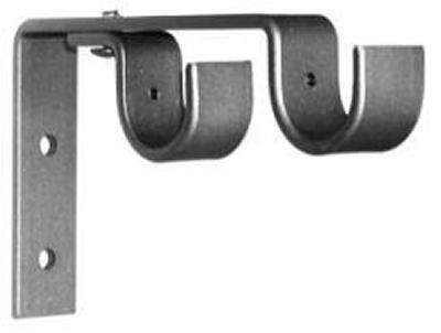 Ona Drapery Hardware Heavy Duty Double Wall Bracket  Search Results