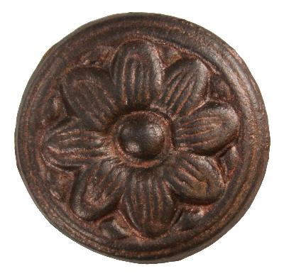 Ona Drapery Hardware Marguerite Rosette Shown in Henna Search Results