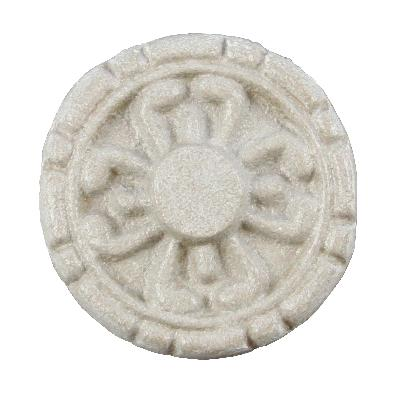 Ona Drapery Hardware Mayan Rosette Shown in Chamagne Search Results