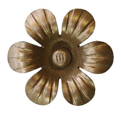Ona Drapery Hardware Petunia Rosette Shown in Antique Brass Search Results