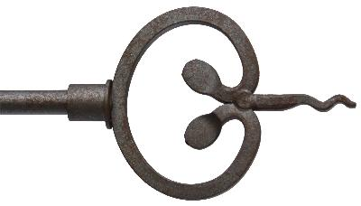 Ona Drapery Hardware Poseidon Finial Shown in Aged Iron Search Results