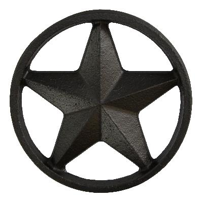 Ona Drapery Hardware Shooting Star Rosette Shown in Black Search Results